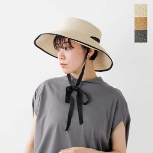 chisaki チサキ ペーパーリボンハット LALA lala 2021ss新作|aranciato
