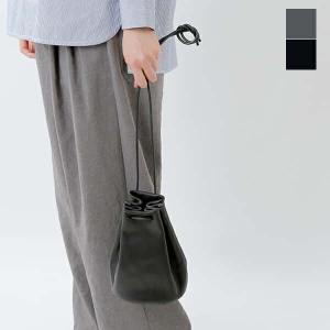 【クーポン対象】mormyrus モルミルス レザー巾着ハンドバック m077 2021ss新作|aranciato