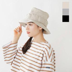 【50%OFF】Nine Tailor ナインテイラー リネンリボンバケットハット Daffodil Hat n-624 2021ss新作|aranciato