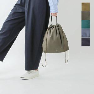 海外出荷不可ORCIVAL オーチバル・オーシバル タフタドローストリングバッグ or-h0025tda 2021aw新作 aranciato