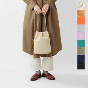 【クーポン対象】MNNG エムエヌエヌジー ウルトラスエードラビットミニ巾着バッグ  2021aw新作 aranciato