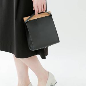 Yuruku ユルク クラッチバッグ Clap Wood Clutch bag yhb-002-a aranciato