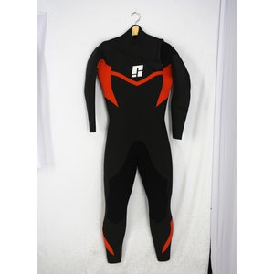 【新品】SIGHT(サイト) SLIDE-ZIPモデル ウエットスーツ 5/3mmフルスーツ[Black/orange]メンズ ML-bサイズ WETSUITS arasoan