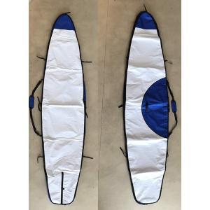 【新品】ノーロゴ SUPレースボード ボードバッグ[WHITE/BLUE] 12'6