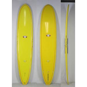 【新品アウトレット】Hawaiian Pro Designs(ハワイアンプロデザイン) BEACH BREAK サーフボード [YELLOW] 9'6