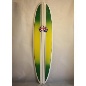 【新品アウトレット】Surfboards Australia (サーフボードオーストラリア)サーフボード [stripe/yellow] 7'2
