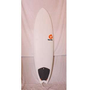 【中古】TORQ surfboard(トルクサーフボード)MOD FISH サーフボード[White]6'6