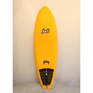 【中古】 LOST(ロスト)MAYHEM ROUND NOSE FISH サーフボード[ORANGE] 5'9