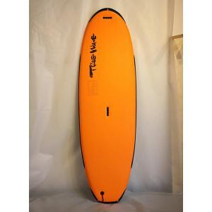 【中古】TRUE WAVE(トゥルーウェーブ) スタンドアップパドルボード 兼 サーフボード [orange]7'0