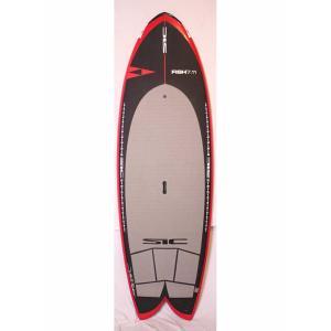 【中古】SIC (エスアイシー) FISH モデル TECH GC スタンドアップパドルボード [Red] 7'11