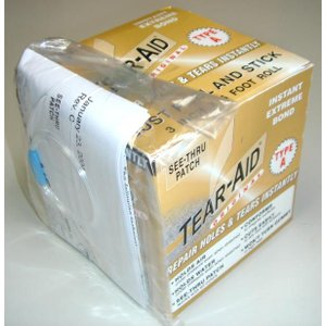 粘着力・防水性も抜群のリペアテープが登場! TEAR-AID(ティアエイド) BOX Aタイプ|arasoan
