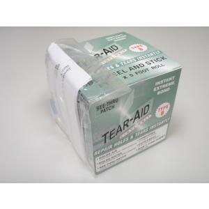 粘着力・防水性も抜群のリペアテープが登場! TEAR-AID(ティアエイド) BOX Bタイプ|arasoan