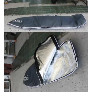 【中古】ACTION SPORTS RETAILER (アクションスポーツリテイラー) サーフボード用 ボードケース[GLAY] 6'6