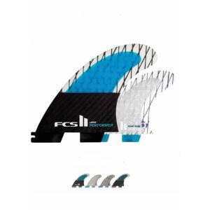 【新品】FCS (エフシーエス)  FCSII SUP PERFORMER CARBON QUAD L パドルボード・ロング向き クアッド フィン 4枚セット サイズL|arasoan
