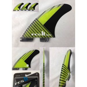 【試乗中古】FCS 2 【FCS II Carver PC Carbon Large Tri Retail Fins  】LARGEサイズ FCS最高グレードPCカーボン素材 トライ3枚SET!!|arasoan