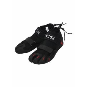 【新品】 FCS(エフシーエス)SP2 REEF BOOTIES モデル 1.5mm [BLACK×RED] US7 25cm リーフブーツ サーフィン用 ブーツ|arasoan