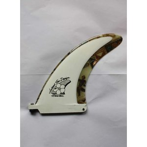 【中古】Island Fin Design(アイランドフィンデザイン)フィン[White] 19cm センターフィン arasoan