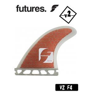 ショートボード用フィン【FUTURE】フューチャーフィン【V2 F4】スタンダードなF4テンプレート トライフィン【スモーク/レッドコア】RTM HEX マテリアル|arasoan