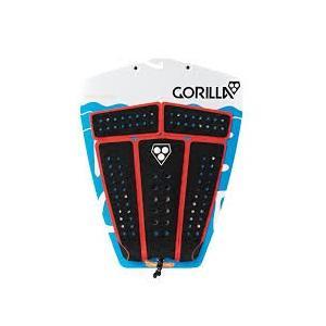 【新品】GORILLA GRIP ( ゴリラグリップ ) デッキパッド CAMPAIGN BLACK/ORG モデル 5ピース TAIL DECKPADS デッキパッチ|arasoan