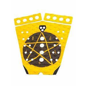 【新品】GORILLA GRIP ( ゴリラグリップ ) デッキパッド  DOHENY BEAST モデル  3ピース  TAIL DECKPADS デッキパッチ|arasoan