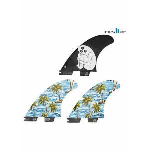 【新品】GORILLA FIN【SLOTH PALM SHANK TRI FIN SET】FCS2プラグ Lサイズ トライ3枚セット|arasoan