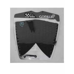 GORILLA GRIP デッキパッド FISHモデル [BLACK] フィッシュテール用 ゴリラグリップ TAIL DECK PADS|arasoan