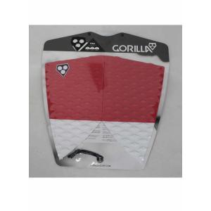 GORILLA GRIP デッキパッド FISHモデル [FANGS / UNDER WHITE] フィッシュテール用 ゴリラグリップ TAIL DECK PADS|arasoan