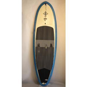 【中古】INFINITY(インフィニティ) SLATERTROUT SUP [BLUE/CLEAR] 255cm スタンドアップパドルボード サイドFIN付|arasoan