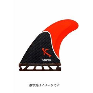 【新品】FUTURE(フューチャー)MEDIUM LOST RTM HEX FIN[RED/BLACK]11.4cm フィン 3枚セット|arasoan
