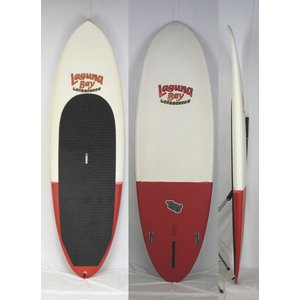 [中古]Laguna Bay(ラグーナベイ)SUP Old Logo [Whitre/ Red] 8'6