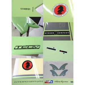【新品アウトレット】HYNSON  BLACK KNIGHT QUAD [SAGE/GRAY] 6'6'' ヒンソン ブラックナイト BOARDWORKS サーフボード|arasoan|03
