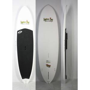 【極上中古】 Laguna Bay (ラグーナベイ )TUFLITE 素材 サーフテック SUP スタンドアップパドルボード [カラー:White] 8'6