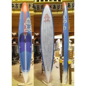 【極上中古】 STARBOARD (スターボード) ACE CARBON モデル SANDWICH スタンドアップパドルボード [BLUE/GRAY/ORANGE] 12'6