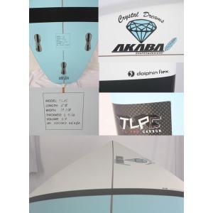 【新品】 Crystal Dreams AKABA  surftech(サーフテック)  DOLPHIN FLEX モデル サーフボード 5'8