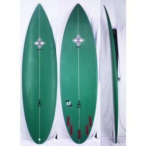 【新品】INFINITY (インフィニティー) TEAM LABELモデル サーフボード [green] 6'6