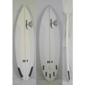 【極上中古】 Crystal Dreams AKABA  surftech(サーフテック)  H-1 モデル サーフボード 6'2