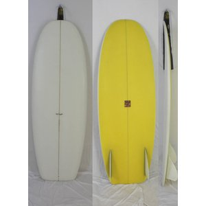 【新品】 TYLER WARREN SURFBOARDS(タイラー・ウォーレン )BAR OF SOAP モデル [CLEAR×YELLOW] 5'2