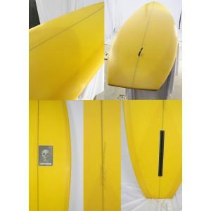 【新品】CHRISTENSON (クリステンソン) FLAT TRACKER モデル サーフボード[SAND FINISH YELLOW] 7'0