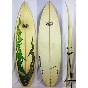 【中古】BlueWater SURFBOARD サーフボード [brush] 5'10