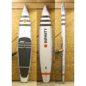 【新品】INFINITY(インフィニティー) WHIPLASH モデル SUP スタンドアップパドルボード [Black&Orange] 12'6