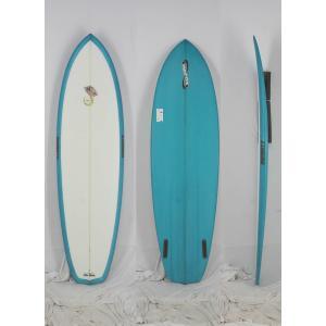【新品アウトレット】INFINITY (インフィニティー) STING FISH モデル サーフボード [CLEAR/S-BLUE] 6'4