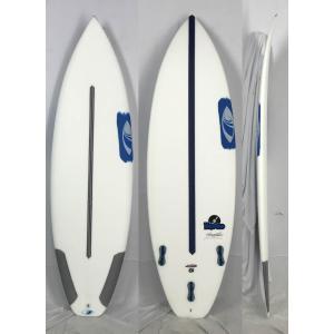 【新品】Sharpeye (シャープアイ) DISCO モデル SURFTECH サーフボード [CLEAR] 5'8
