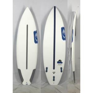【新品】Sharpeye (シャープアイ) DISCO モデル SURFTECH サーフボード [CLEAR] 5'10