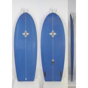 【新品】INFINITY (インフィニティー) TOMBSTONEモデル サーフボード [BLUE] 5'4