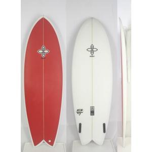 【新品】INFINITY (インフィニティー) CASSETTEモデル サーフボード [RED×CLEAR] 6'0