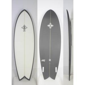 【新品】INFINITY (インフィニティー) CASSETTEモデル サーフボード [CLEAR×CHARCOAL] 6'4