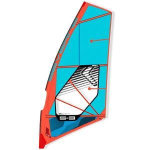 【試乗中古】SEVERNE (セバーン) 2016 S-3 5.3 [Blue] ウインドサーフィン用 セイル|arasoan