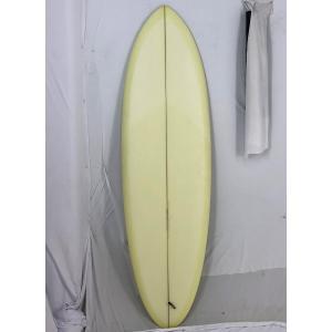 【新品アウトレット】CHRISTENSON (クリステンソン) cfobonzerモデル サーフボード [Cream yellow] 5'8