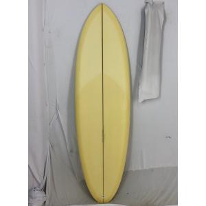 【新品アウトレット】CHRISTENSON (クリステンソン) cfoモデル サーフボード [Cream yellow] 5'8