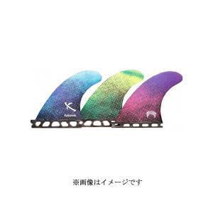【新品】FUTURE(フューチャー)LOST GLOM GRAPHIC VII RTM HEX FIN[BLUE]10.7cm グロム XS フィン 3枚セット|arasoan